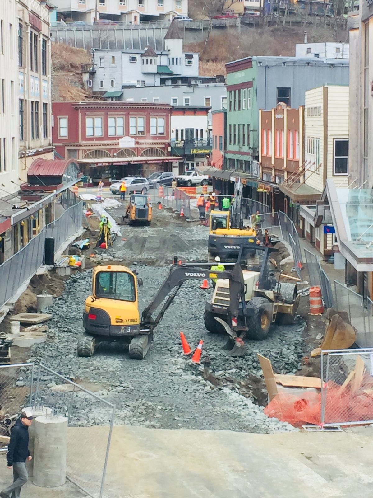 Front Street reconstruction project